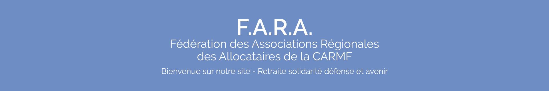 Fédération des Associations Régionales des Allocataires de la CARMF