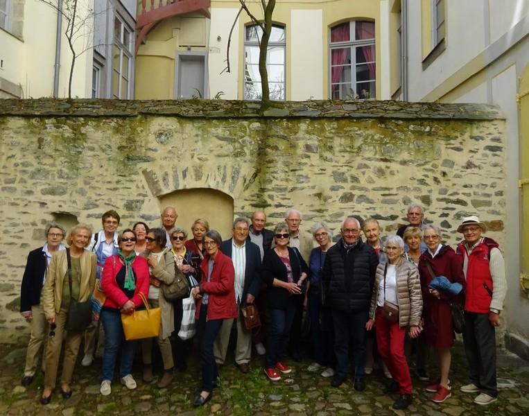 Visite des « Trésors cachés » de Rennes - Sortie du mardi 14 mai 2019
