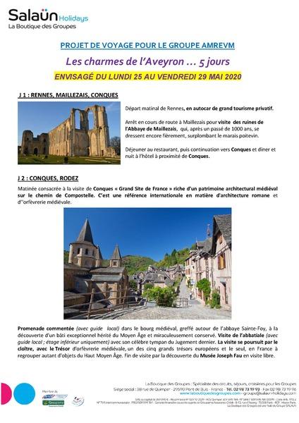 Voyage en Aveyron